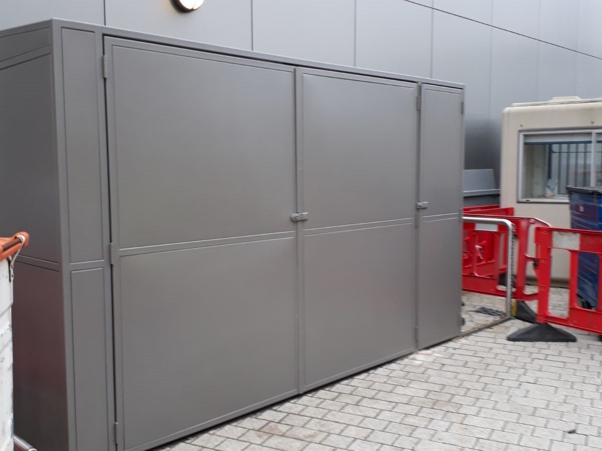 Security Bin Enclosure