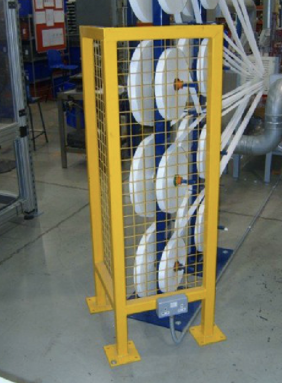 Factory Safety Enclosure