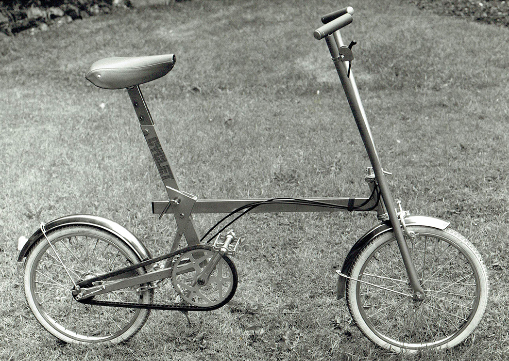 Bespoke collapsible bike from 1960s by J&J Products